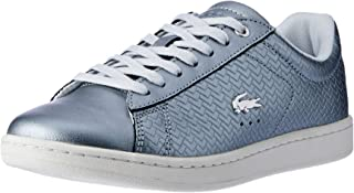Lacoste Women's Carnaby EVO 119 9 Fashion Shoes, SLV/Off WHT