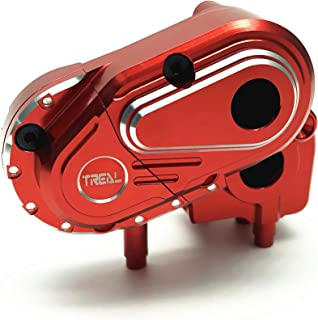 Treal Alloy Transmission Case for Axial Capra 1.9 UTB (Red)
