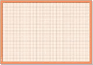 Baoblaze 100 Pi/èces A3 Coordonn/ées Papier Feuille Maths Calque Graphique pour Bureau et /École