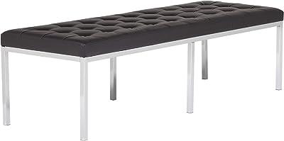 Miraculous Amazon Com Studio Designs 72012 Bonded Leather Lintel 60 Machost Co Dining Chair Design Ideas Machostcouk