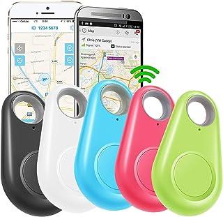 GBD 5 Pack GPS Tracker Smart Key Finder Locator for Kids Boys Girls Pets Key Wallet Car Dog Cat Bag Luggage Phone Alarm Se... photo