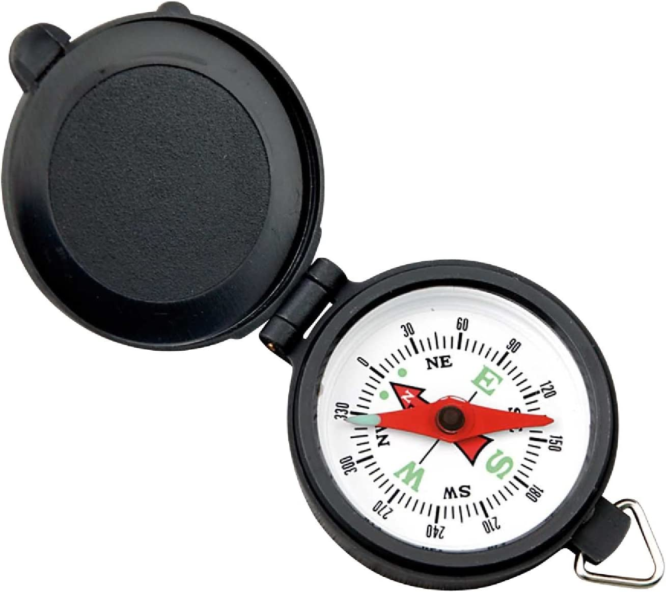 Coleman Company Pocket Austin Mall Compass with Animer and price revision Black Case White Plastic