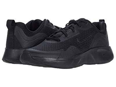 Nike Kids WearAllDay (Big Kid) (Black/Black/Black) Kid