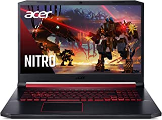 "Acer Nitro 5 Gaming Laptop, 9th Gen Intel Core i7-9750H, NVIDIA GeForce RTX 2060, 17.3"" Full HD IPS 144Hz 3ms Display, 16G..."