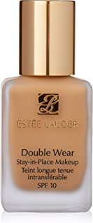 Estee Lauder Double Wear Face Foundation Stay-In-Place Makeup, SPF 10 - No. 37 Tawny (3W1), 30 ml