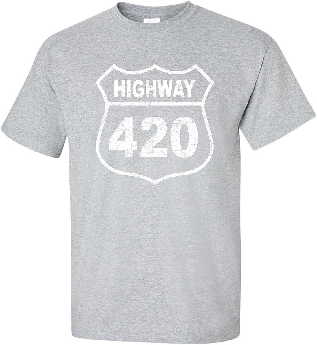 zerogravitee Highway 420 Adult Short Sleeve T-Shirt