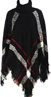 Tough Cookie's Women's Stylish and Cute Poncho with Hood