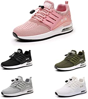 Zapatillas de Deporte Hombres Running Zapatos para Correr Gimnasio Sneakers Deportivas Padel Transpirables Casual Montaña ...