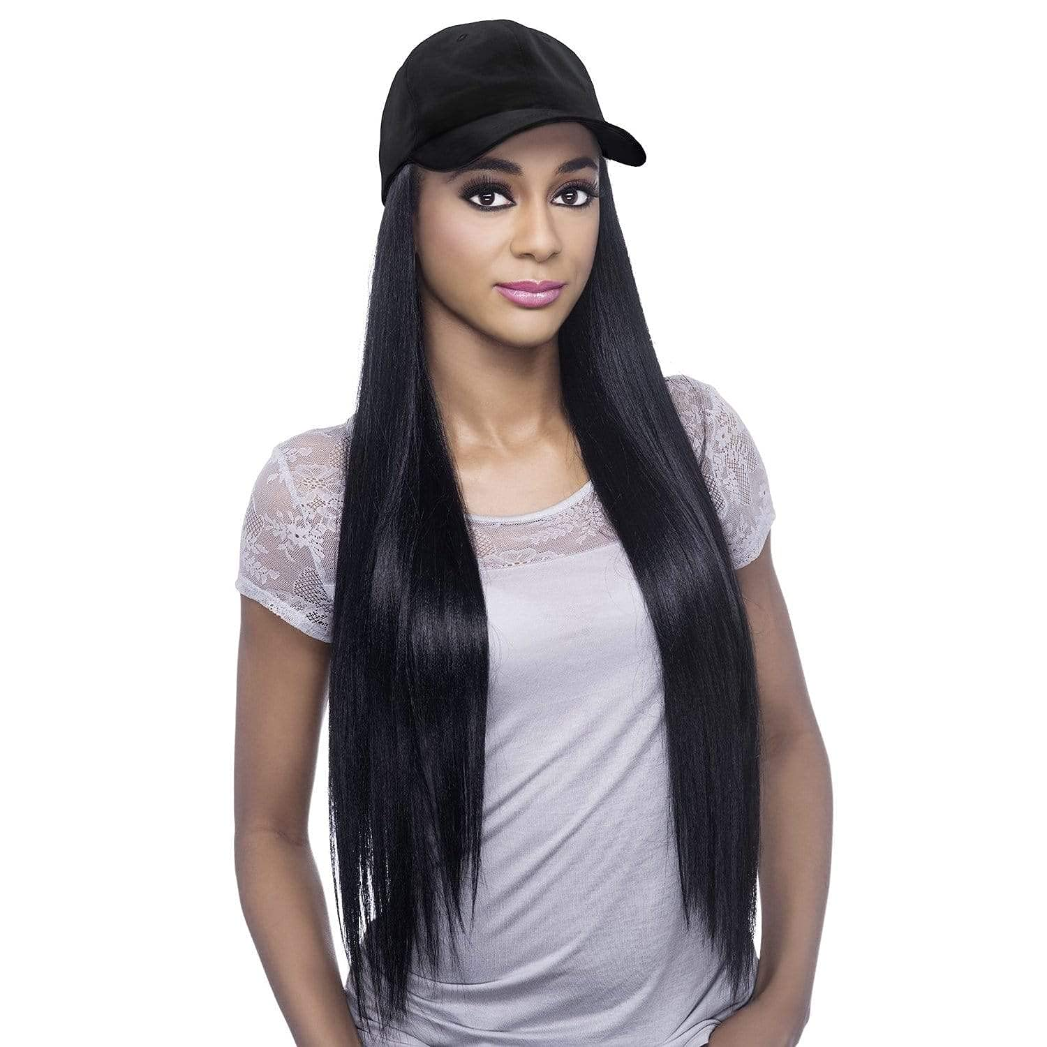 Vivica A. Fox Synthetic Max 68% OFF Wig with National products - Black FS1B Cap 30 CD-ESSENT
