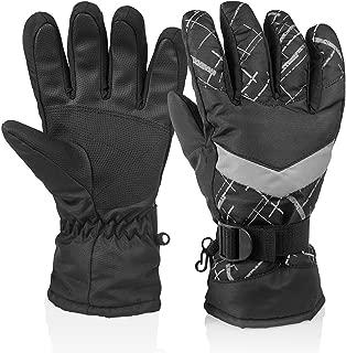 HUO ZAO Men Winter Snow Ski Gloves