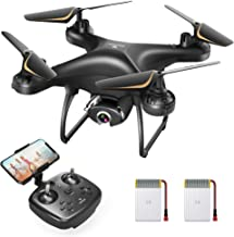 SNAPTAIN SP650 1080P Drone with Camera for Adults 1080P HD Live Video Camera Drone for Beginners w/Voice Control, Gesture ...