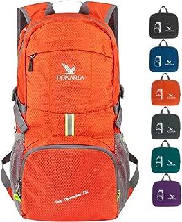 POKARLA 20/35/40L Hiking Backpack Lightweight Packable Waterproof Travel Daypack