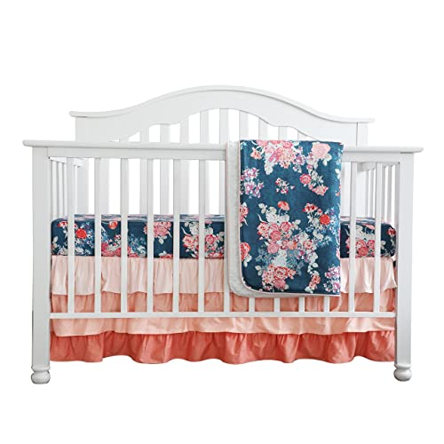 Navy And Coral Bedding Amazoncom