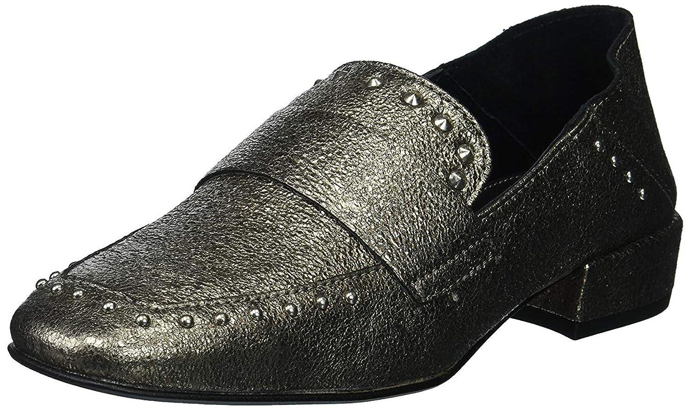 裏切りそこから規制する[Kenneth Cole New York] Women's Bowan 2 Slip Stud Detail Loafer Flat [並行輸入品]