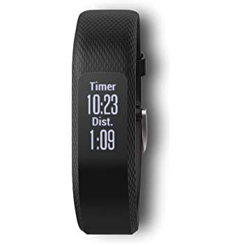 Garmin Vivosmart 3, Black, S/M (Renewed)