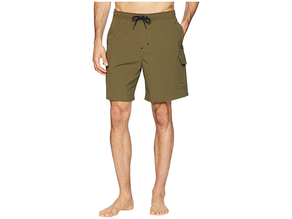 Quiksilver Waterman Explorer Technical Shorts (Ivy Green) Men