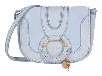 See by Chloe Hana Mini Suede and Leather Crossbody