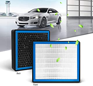 KAFEEK HEPA Honeycomb Cabin Air Filter Fits CF10743, 68042866AA, 27277-VX01A, B7277-EG01A, Replacement for Chrysler/Dodge/Infiniti/Nissan/Volkswagen, includes Activated Carbon Particles