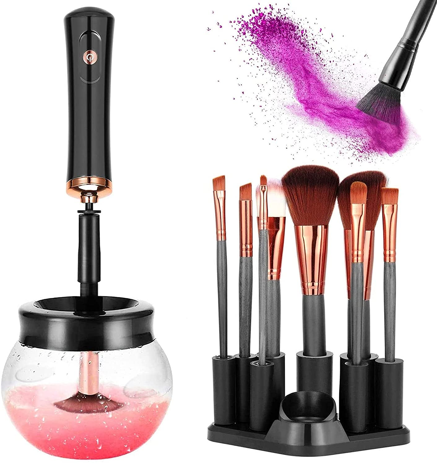 Electric Max 86% OFF Inexpensive Makeup Brush Cleaner and Cosmeti Machine Dryer Upgraded