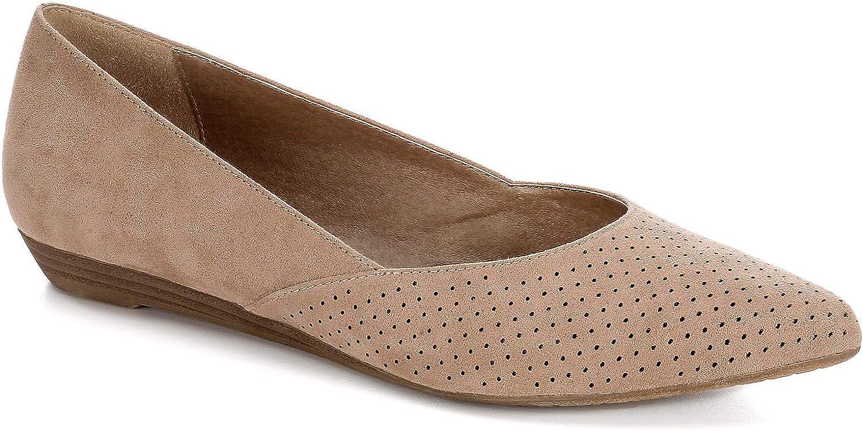 Limelight Womens Alia Slip On Mini Wedge Flat shoes