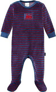 Schiesser Baby-Jungen Zug Anzug mit Fuß Zweiteiliger Schlafanzug