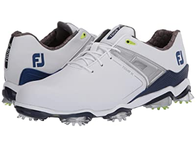 FootJoy Tour X (White/Navy/Lime Trim) Men