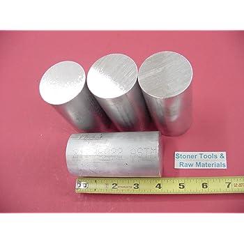 "3-1//2/"" Dia x 4/""-Long  6061 T6511 Aluminum Round Bar--/>3.5/"" Dia 6061 T6511 Rod"