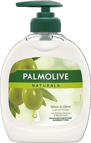 Palmolive - Aceite de oliva Leche Jabón líquido, 300 ml