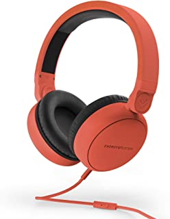 Energy Sistem Energy Sistem Headphones Style 1 Talk Chili Red (Wired Over-Ear, 180º Foldable, detachable cable Audio-In)
