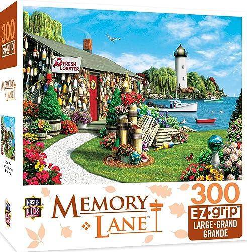 promociones de descuento Masterpieces Lobster Lobster Lobster Bay Memory Lane Grip Art by Alan Giana Puzzle (300-Piece) by MasterPieces  mejor moda