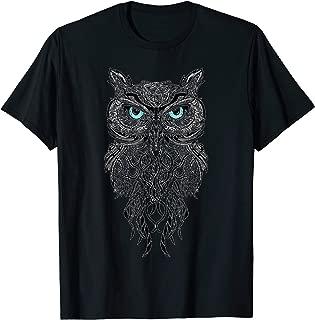 Best T-shirt is great for owl fans,Owl art T-shirt.