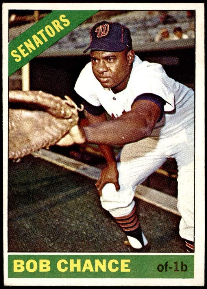 1966 SALENEW very popular Topps # 564 Bob Senators Baseball Washington Opening large release sale Card Chance