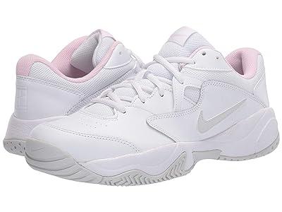 Nike Court Lite 2 (White/Photon Dust/Echo Pink) Women