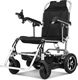 OneChange Power Wheelchair Wheelchair,Lightweight Folding Electric Wheelchair, Deluxe Power Compact Mobility Aid Wheel Cha...