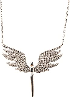 The angel necklace, silver