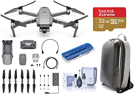 $1249 Get DJI Mavic 2 Zoom Drone (24-48mm Optical Zoom) Bundle kit with DJI Hard Case Backpack - 32GB SDHC Memory Card - Cleaning Kit - Multi Card Reader