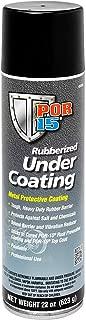POR-15 49308 Black Paintable Rubberized Spray UnderCoating, 22. Fluid_Ounces