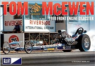 MPC 900 Tom McEwen 1969 Front Engine Dragster Model Kit