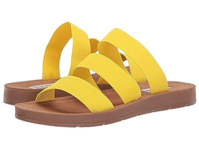 Steve Madden Pascale Flat Sandal (Yellow) Women