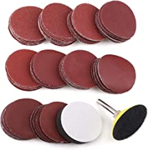 2 Inch Sanding Discs Pad Kit, 100PCS 60-3000 Grit Sandpaper with 1/4