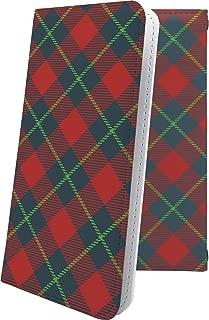 Xperia Z SO-02E ケース 手帳型 赤 赤色 レッド チェック チェック柄 エクスペリア 手帳型ケース ペイズリー ペイズリー柄 SO02E XperiaZ おしゃれ
