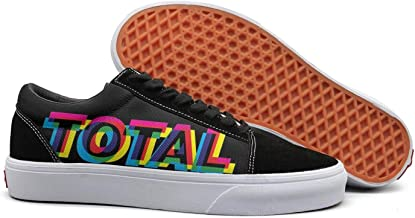 NICESSHOE New-Funny-Order-Total-from-Joy-Division-to-New-Order- Women's Skateboard Shoes Lace Up Shoe