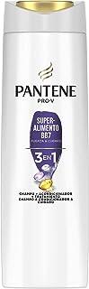 Pantene Pro-V Superalimento Champú, Acondicionador y Tratamiento 3 En 1 Para Pelo Frágil y Fino, Con Mezcla Pro-V, Antioxidantes y Lípidos, 300 ml