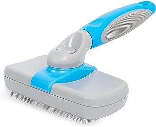 Dog Brush Self Cleaning Dog Slicker Brush Pet Grooming Shedding Tool Brush Cat Brush, Gently Removes Loose Undercoat, Mats...