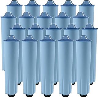 20x Cartouche filtre à eau pour machines à café des Jura Cartouche de filtre (Blue)