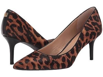 LAUREN Ralph Lauren Lanette (Leopard Haircalf) Women
