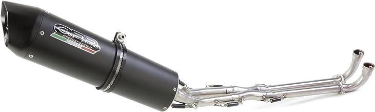 GPR Exhaust System SCOM.139.4RT Impianto Completo Omologato per Scooter Yamaha Majesty 180 Sv 2003//06 4Road Round Scarico