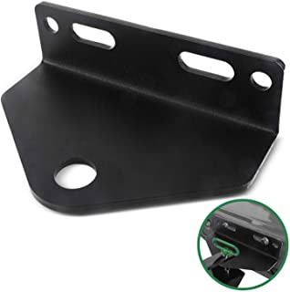 Mission Automotive Heavy Duty Universal Zero Turn Mower Trailer Hitch - 3/16'' Thick and Rugged Steel - 3/4'' Trailer Hitc...