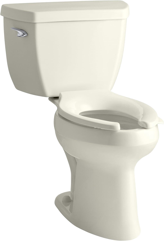 Kohler K-3493-96 Highline Classic Pressure Lite Comfort Height Elongated 1.4 gpf Toilet with Left-Hand Trip Lever