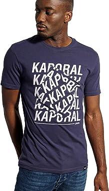 Kaporal - T-Shirt à Manches Courtes, Coupe Slim - Maker - Homme